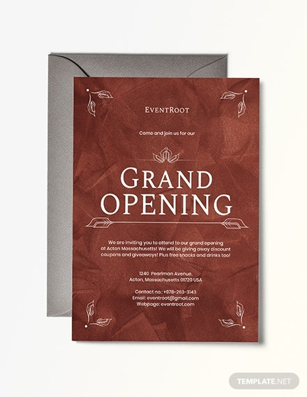grand opening invitation example