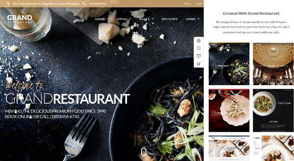 grand restaurant seo optimized wordpress theme1