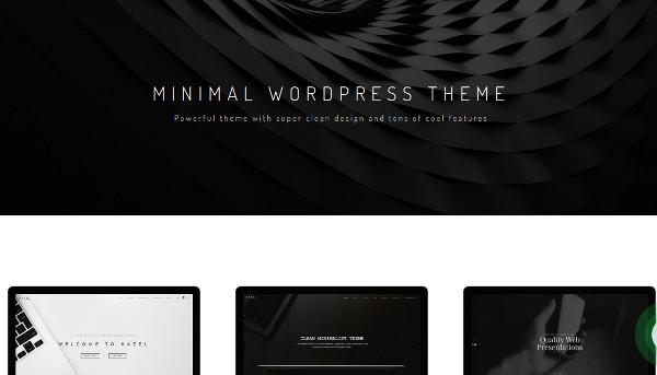 hazel – clean minimalist multi purpose wordpress theme1