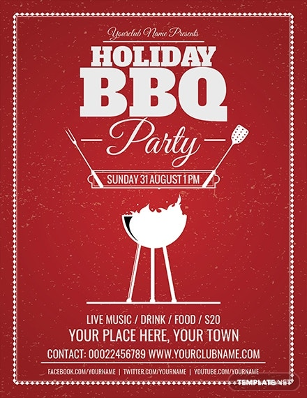 holiday bbq party