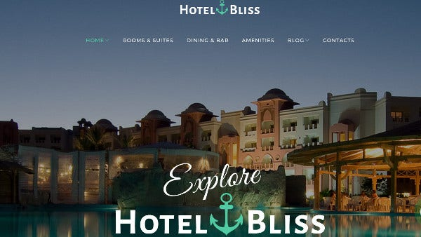 hotelbliss cherry plugin wordpress theme