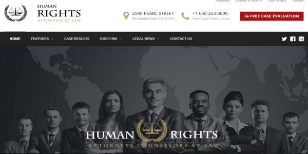 human rights – attorney and lawyer wordpress theme