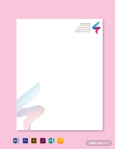 it company letterhead template1