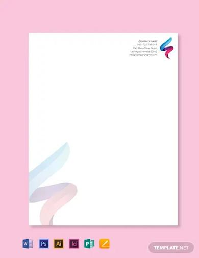 it company letterhead template3