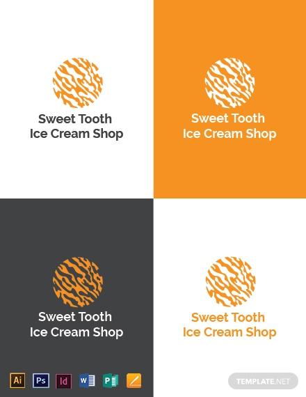 ice cream logo design download1