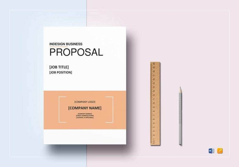 indesign business proposal template 788x552