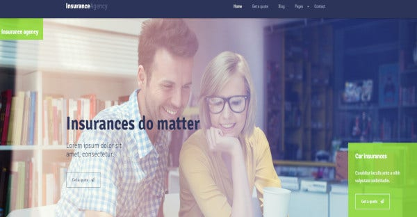 Insurance – WordPress Consulting Theme