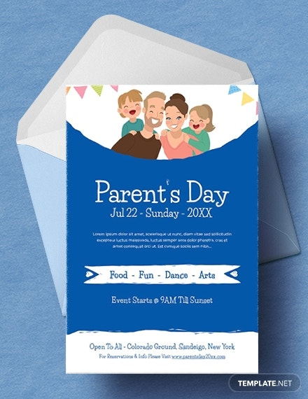 international parents day invitation sample