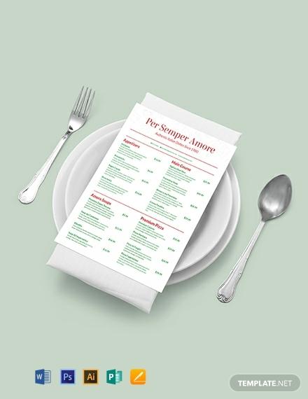 italian-menu-template