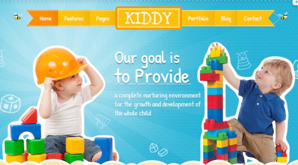 kiddy multi purpose wordpress theme