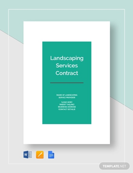 landscaping services contract 2
