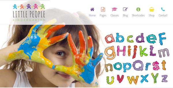 little people wordpress theme