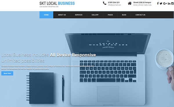 Local Business Pro- HTML5 and CSS3 WordPress Theme