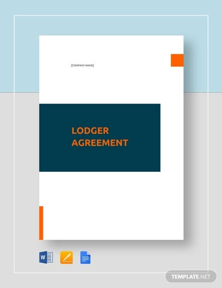 lodger agreement template