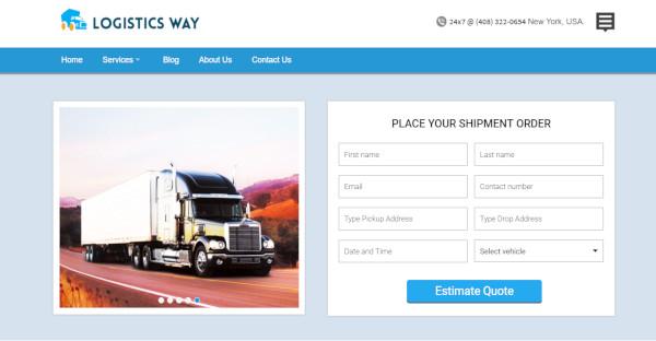 Dynamic Shipping WordPress Theme