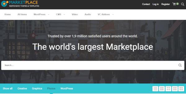 marketplace seo based wordpress theme