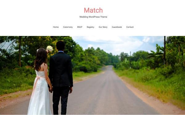 match fast loading wordpress theme