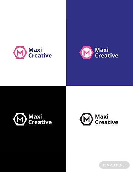 maxi creative logo format