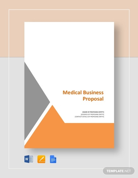 medical business proposal template
