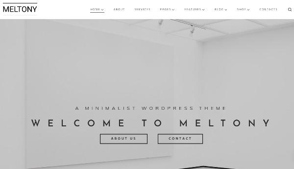 meltony live customizer wordpress theme