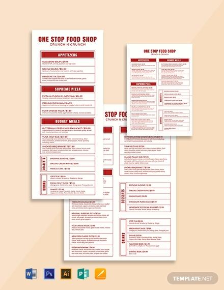 modern food and drinks menu template 440x570 1