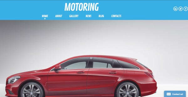 motoring creative wordpress theme