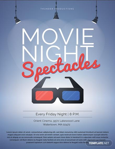 movie night poster 1x
