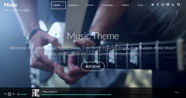 music-full-width-video-wordpress-theme