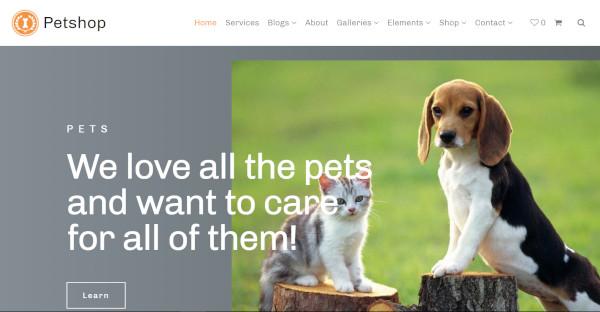 my pet animal planet wordpress theme