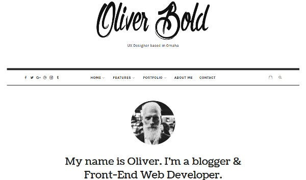 oliver translation ready wordpress theme