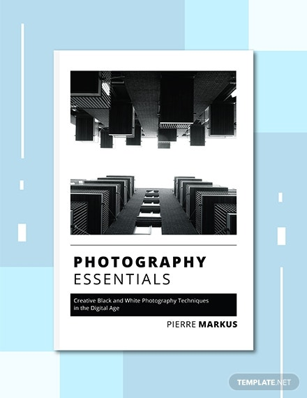 photo book cover example