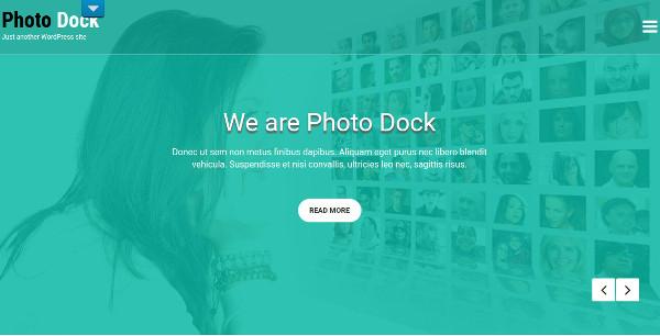 photo dock – retina ready wordpress theme