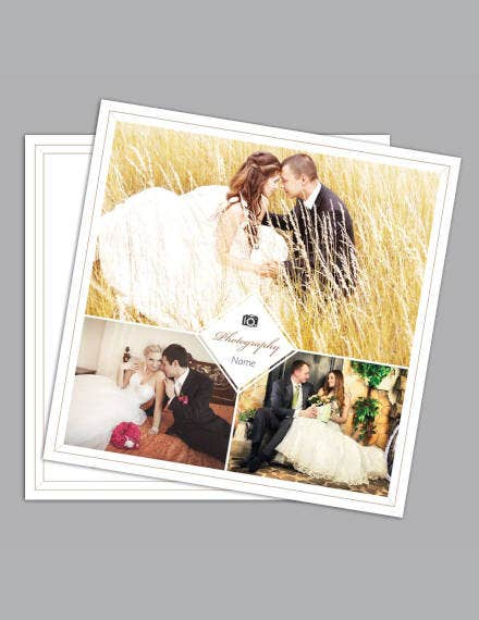 photographer gift certificate sample
