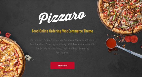 pizzaro – pizza restaurant wordpress theme1