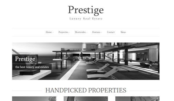 prestige advanced search wordpress theme