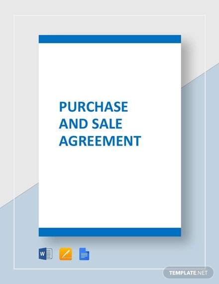 Purchase and Sale Agreement Template