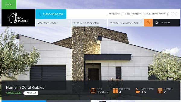 real-places-drag-drop-layout-manager-wordpress-theme
