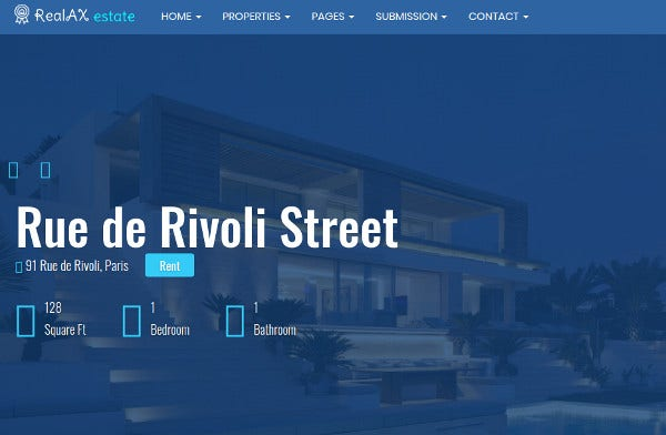 realax full functionality integrated wordpress theme