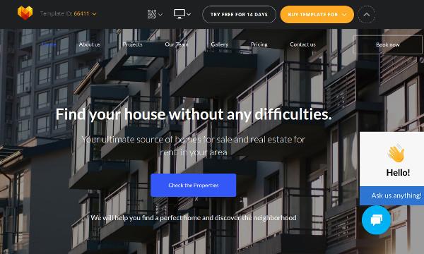realtor – google fonts integrated wordpress theme