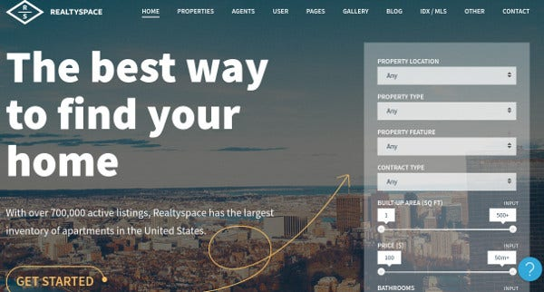 realtyspace-slider-revolution-wordpress-theme