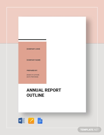 report outline template