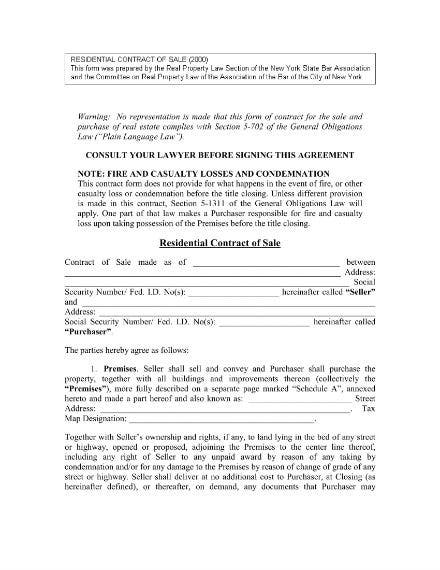 residential purchase contract 01