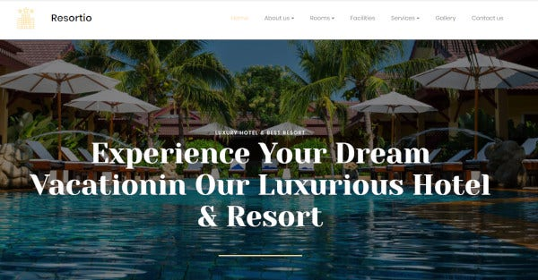 resortio – wordpress theme