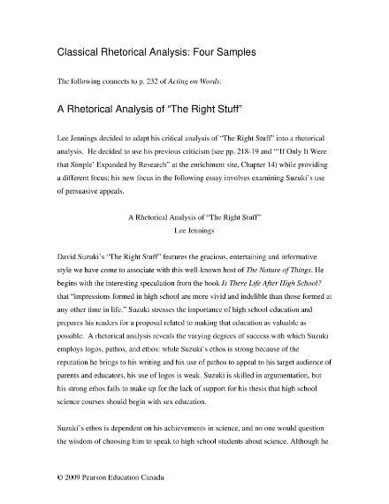 rhetorical analysis template 01
