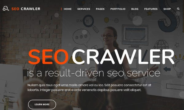 seo crawler seo pulgins compatible wordpress theme
