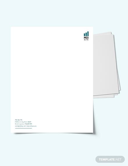seo letterhead template