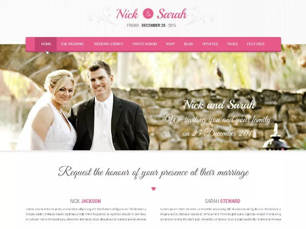 skt wedding lite contact form 7 wordpress theme