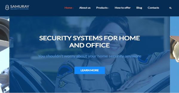 samuray highly optimized wordpress theme for security