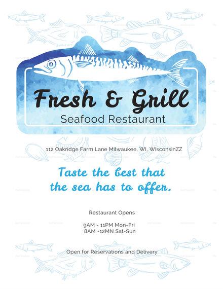 seafood-menu-template