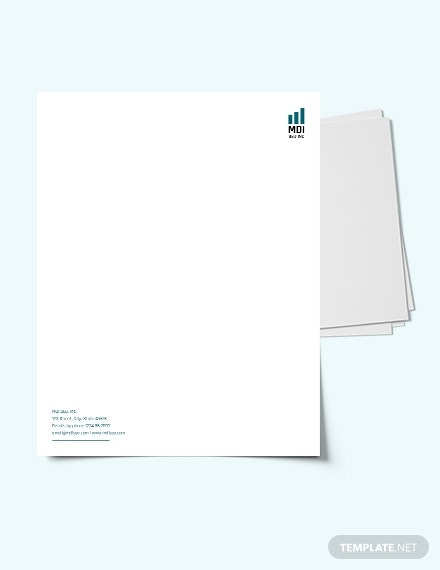 search engine letterhead template